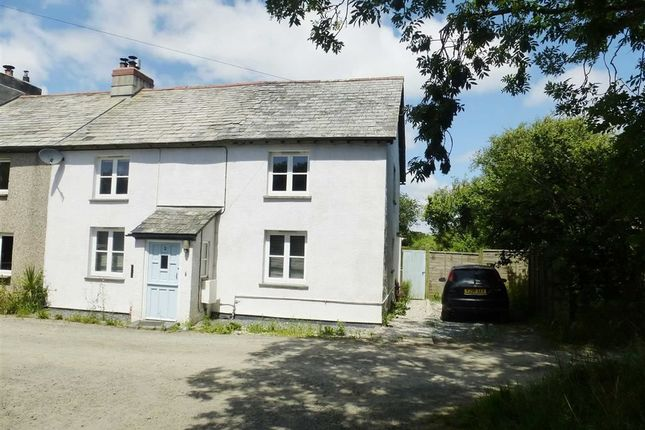 3 bed terraced house for sale in Red Post, Holsworthy, Devon