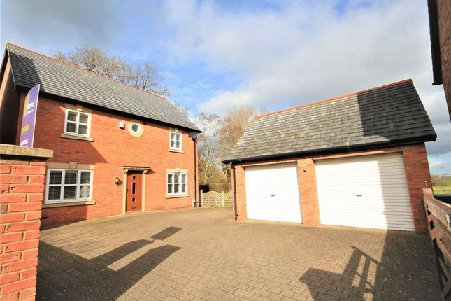 Thumbnail Detached house for sale in Chapel Gardens, Penley, Nr Wrexham