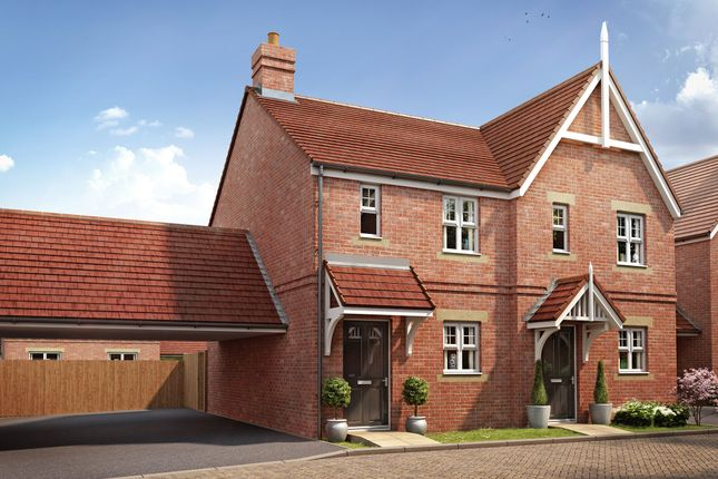 """Thumbnail Terraced house for sale in """"The Alnmouth"""" at Ostrich Street, Stanway, Colchester"""