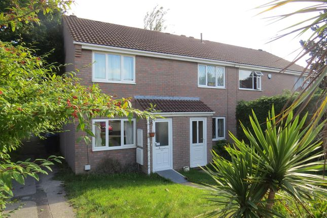 Thumbnail End terrace house to rent in Warmwell Close, Canford Heath, Poole