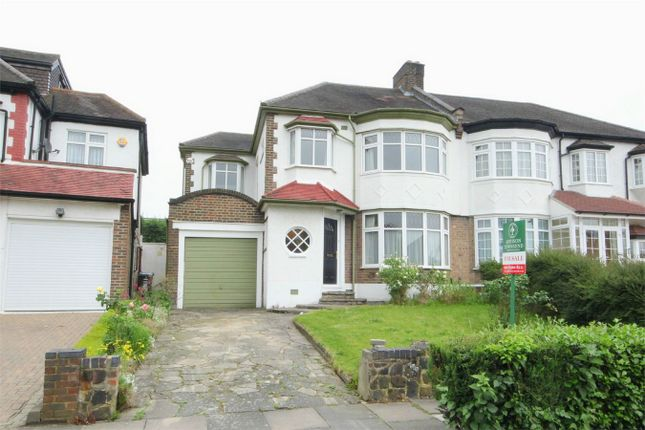 Thumbnail Semi-detached house for sale in Langside Crescent, London