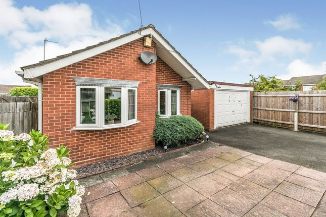Thumbnail Detached bungalow for sale in Round Hill Terrace, Hurst Green, Halesowen
