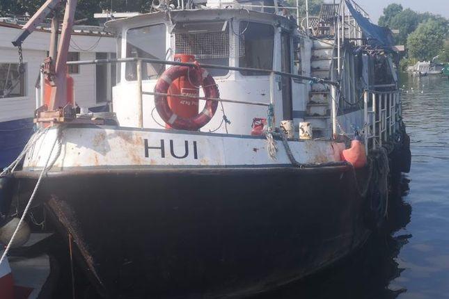 Hui Boat Moored At, Sadlers Ride, West Molesey, Surrey KT8