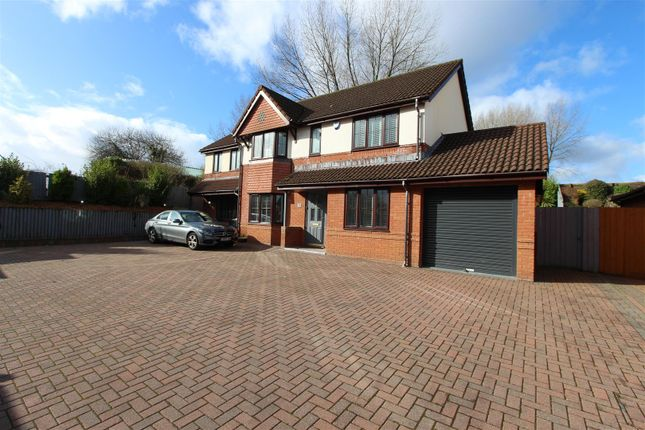 Thumbnail Detached house for sale in Hazel Grove, Caerphilly