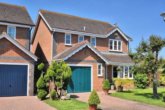 Thumbnail Detached house for sale in Field Gardens, Steventon, Abingdon