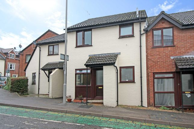 Thumbnail Terraced house for sale in Oakfield Court, Blandford Forum
