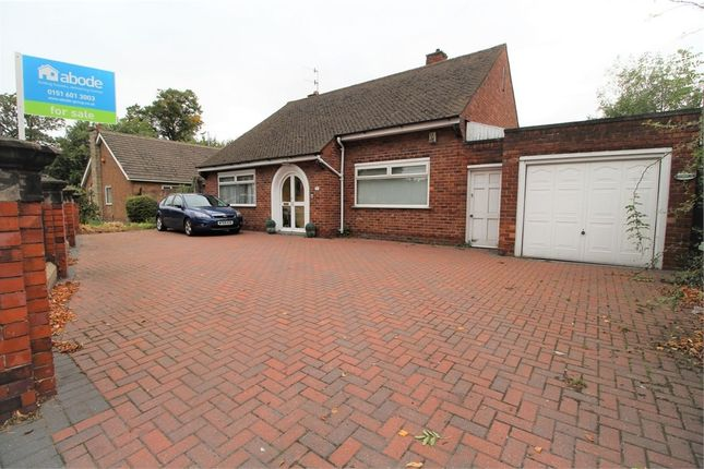 Thumbnail Detached bungalow for sale in Aigburth Road, Aigburth, Liverpool, Merseyside