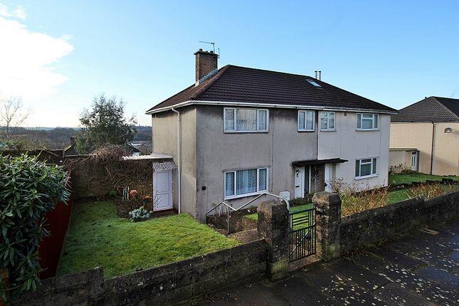 Thumbnail Semi-detached house for sale in Heol Y Coed, Pontyclun, Rhondda, Cynon, Taff.