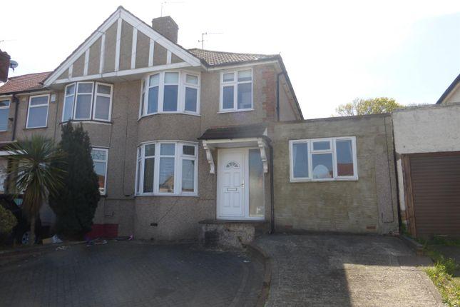 Thumbnail End terrace house for sale in Parkside Avenue, Barnehurst, Kent