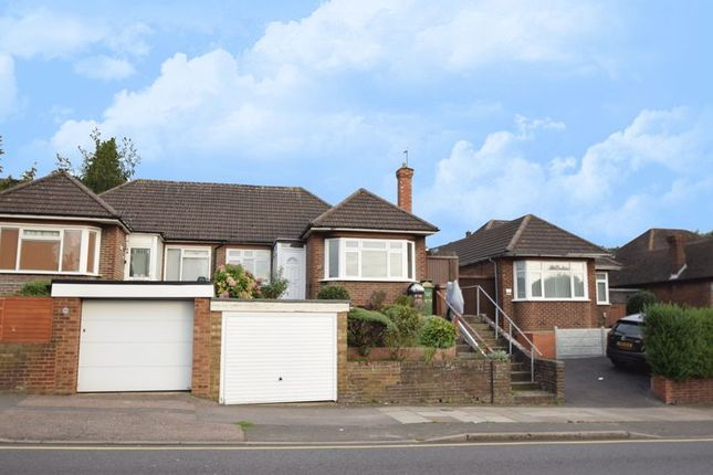 Thumbnail Semi-detached bungalow to rent in Crawley Green Road, Luton