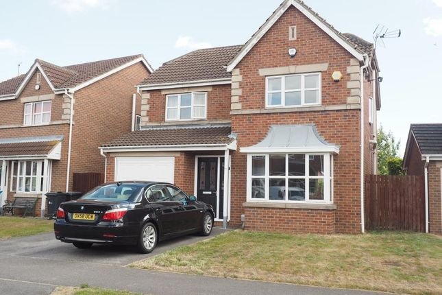 Thumbnail Detached house for sale in Corinthian Way, Victoria Dock, Hull
