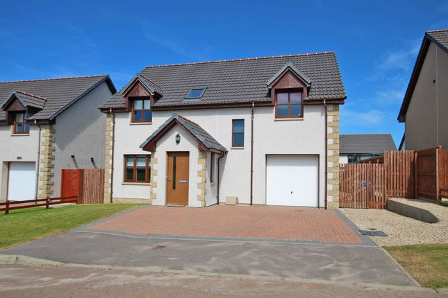 Thumbnail Detached house for sale in 18 Traynor Way, Buckie