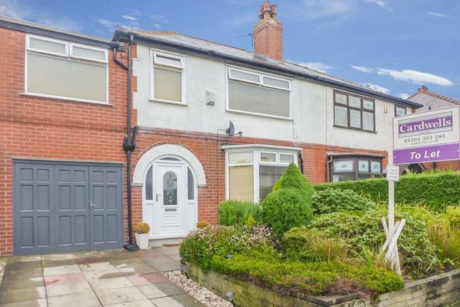 Thumbnail Semi-detached house to rent in Verdure Avenue, Bolton