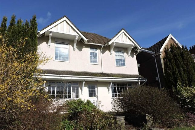 Thumbnail Detached house for sale in Brecon Road, Pontardawe, Swansea
