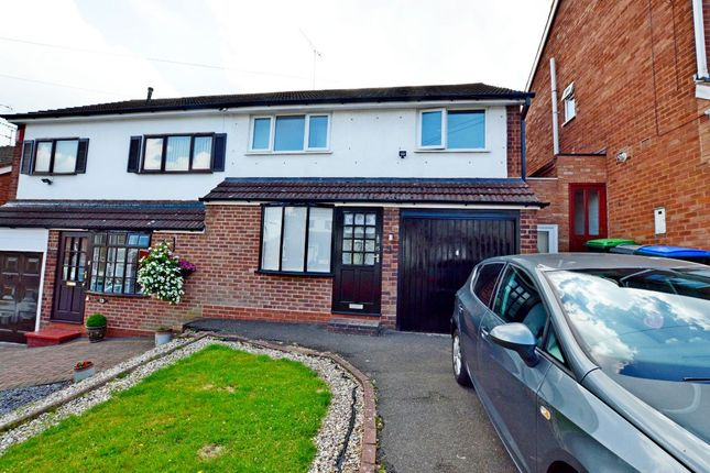 Thumbnail Semi-detached house for sale in Chudleigh Grove, Great Barr, Birmingham