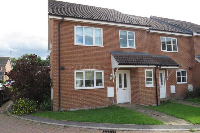 Thumbnail End terrace house for sale in Kent Drive, Watlington, King's Lynn