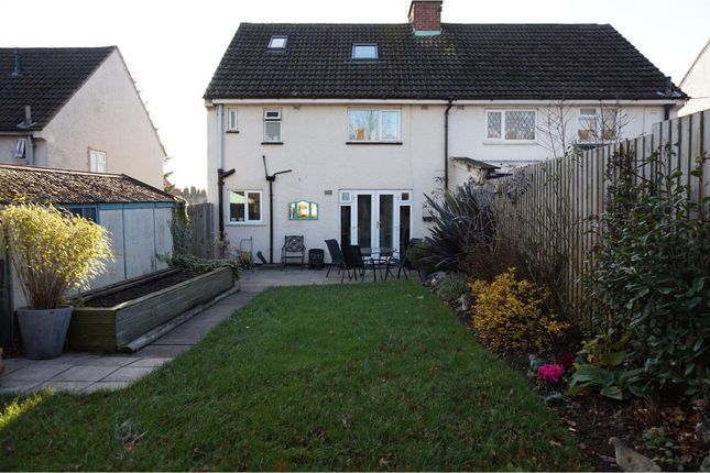 Thumbnail Semi-detached house for sale in Hollow Road, Anstey
