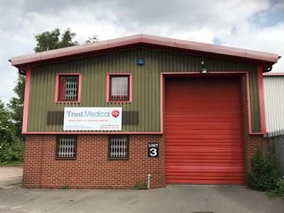 Thumbnail Warehouse to let in Unit 3, Moor Street, Burton Upon Trent, Staffordshire