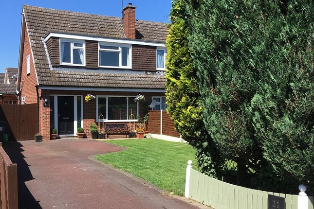 Thumbnail Semi-detached house for sale in Bury Road, Shefford, Bedfordshire