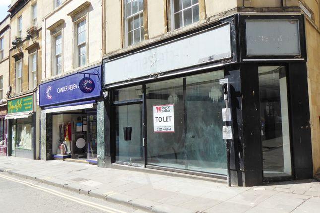 Thumbnail Retail premises to let in Westgate Street, Bath