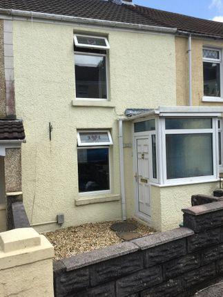 Thumbnail Terraced house to rent in Lan Street, Morriston, Swansea