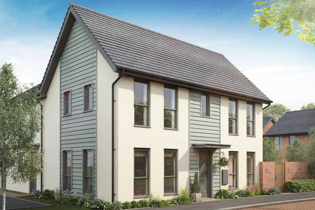 "Thumbnail End terrace house for sale in ""Ennerdale"" at Ffordd Y Mileniwm, Barry"