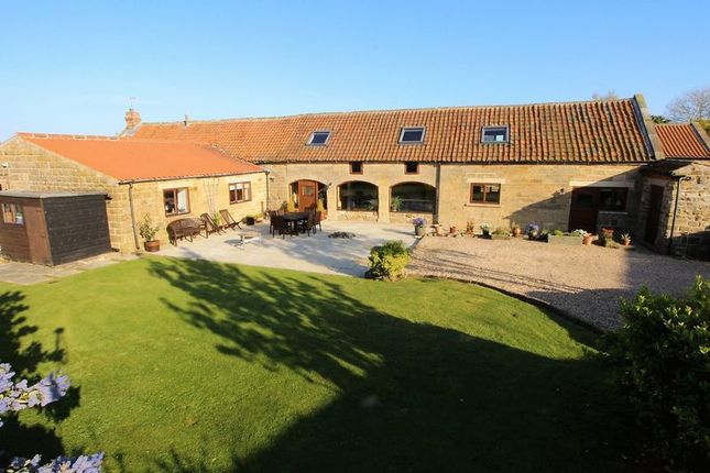 Thumbnail Barn conversion for sale in High Street, Burniston, Scarborough