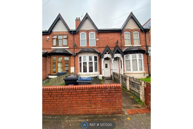 Thumbnail Terraced house to rent in Westminster Road, Birmingham