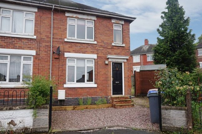 Thumbnail Semi-detached house for sale in Rownall Place, Meir, Stoke-On-Trent, Staffordshire