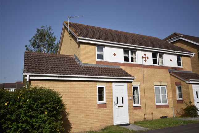 Thumbnail Semi-detached house to rent in Julius Close, Emersons Green, Bristol