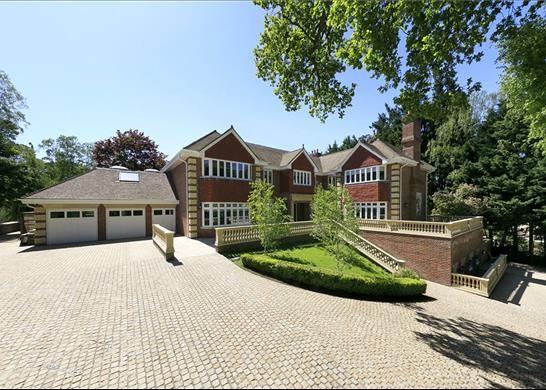 Thumbnail Detached house for sale in Horseshoe Ridge, Weybridge, Surrey