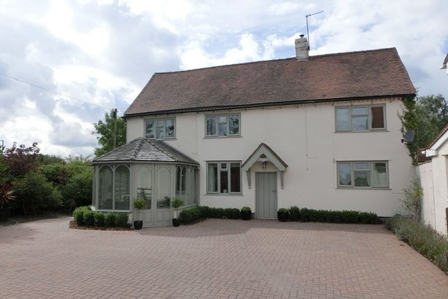 Thumbnail Detached house for sale in Tythe Barn Lane, Dickens Heath, Solihull