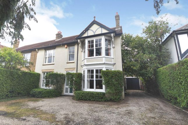 Thumbnail Semi-detached house for sale in Wood Street, Chelmsford