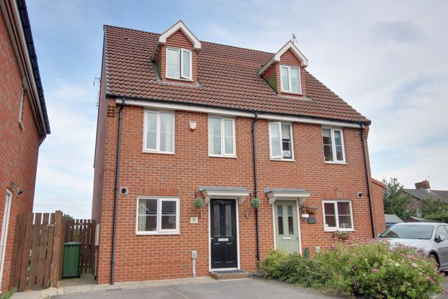 Thumbnail Terraced house to rent in Kingscroft Drive, Brough, Yorkshire