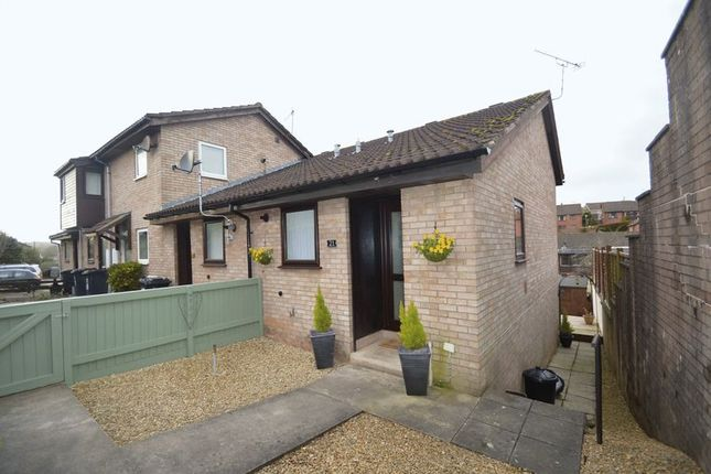 Thumbnail Terraced house for sale in Springfield Close, Coleford