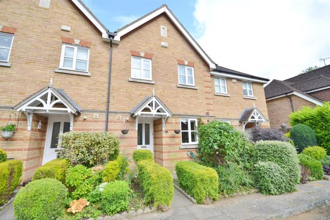 Thumbnail Terraced house for sale in Montague Hall Place, Bushey