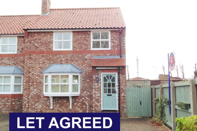 Thumbnail Semi-detached house to rent in Georgian Mews, Driffield