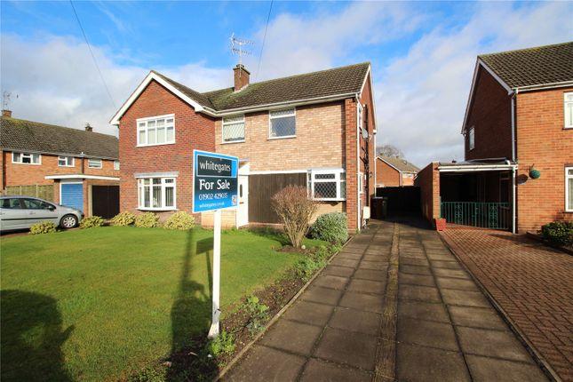 Thumbnail Semi-detached house for sale in Grovelands Crescent, Fordhouses, Wolverhampton