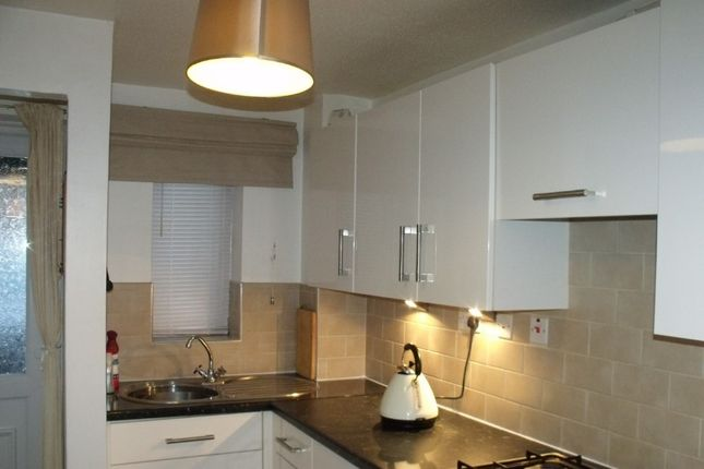 Thumbnail Terraced house to rent in Laburnum Close, Woodford Halse, Daventry