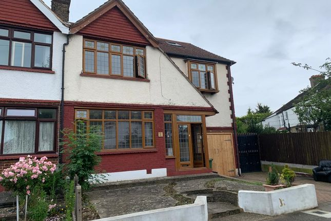 Thumbnail Semi-detached house to rent in Hereford Gardens, Cranbrook, Ilford