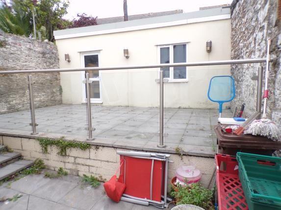 Courtyard Garden of Stonehouse, Plymouth, Devon PL1