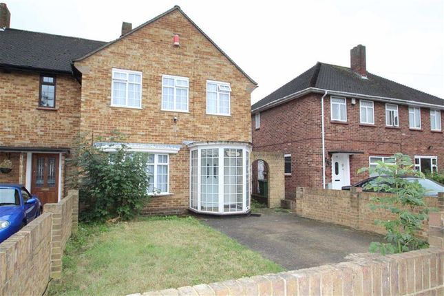 Thumbnail Semi-detached house to rent in The Larches, Hillingdon, Middx