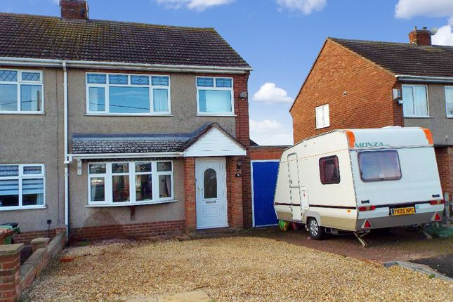 Thumbnail Semi-detached house for sale in Hookhams Path, Wollaston, Northamptonshire