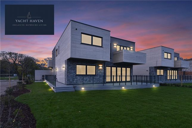 Thumbnail Detached house for sale in Plot 5 Yacht Haven, Copse Lane, Hayling Island