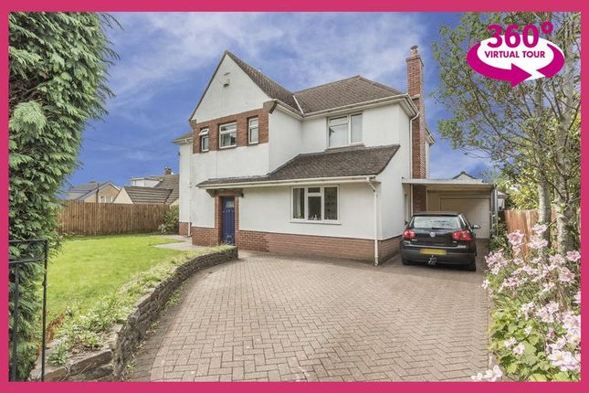 Thumbnail Detached house for sale in High Cross Lane, Rogerstone, Newport