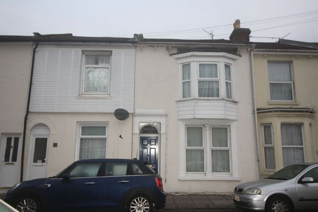Thumbnail Terraced house to rent in Hampshire Street, Portsmouth