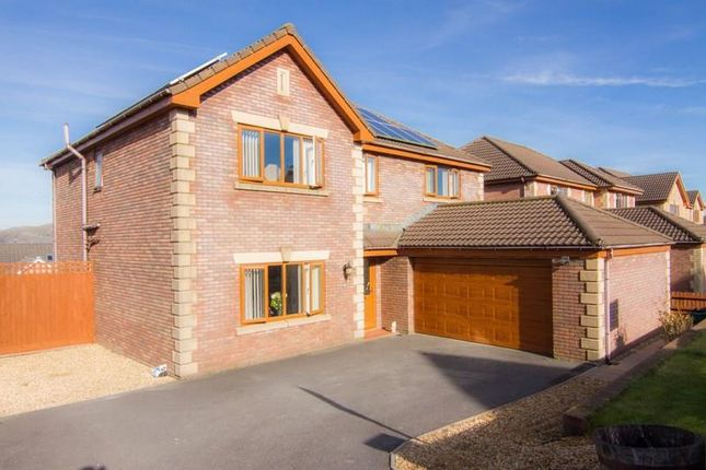 Thumbnail Detached house for sale in Clos Cribyn, Beacon Heights, Merthyr Tydfil