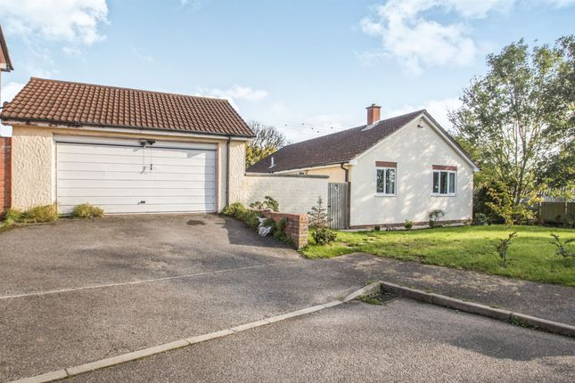 Thumbnail Detached bungalow for sale in Ryesland Way, Creech St. Michael, Taunton