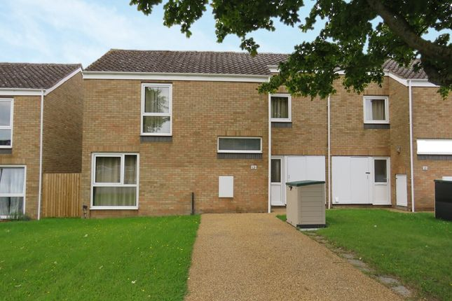 Thumbnail End terrace house for sale in Chestnut Way, Raf Lakenheath, Brandon