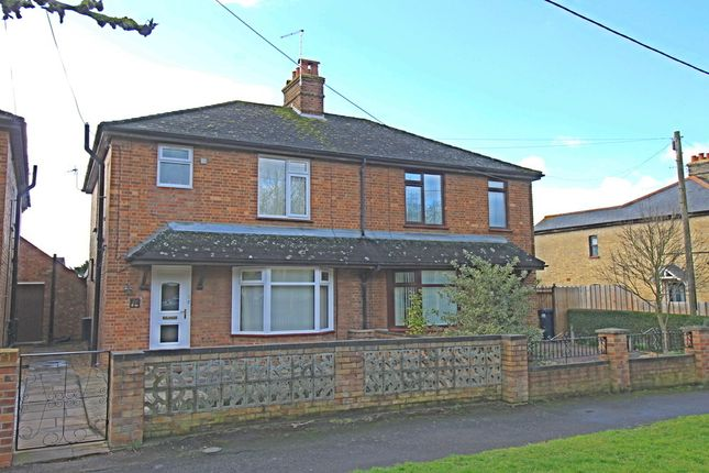 Thumbnail Semi-detached house for sale in Cambridge Villas, Godmanchester